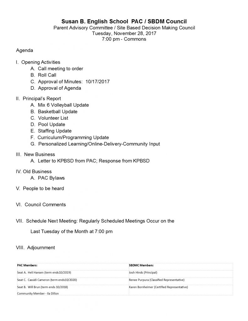 171128 PAC Agenda